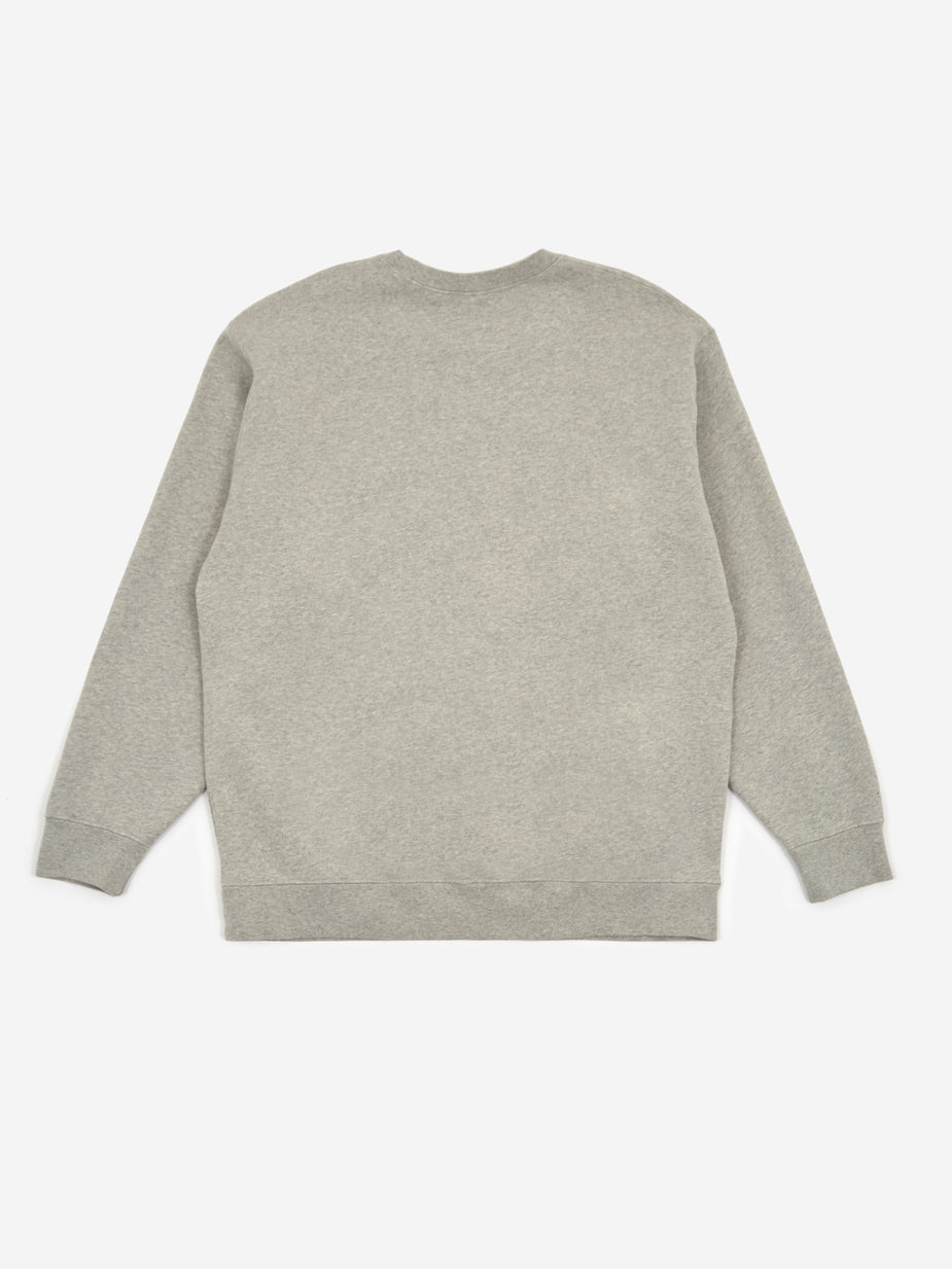 Reception Reception Club Crewneck Sweatshirt - Melange Grey - Grey