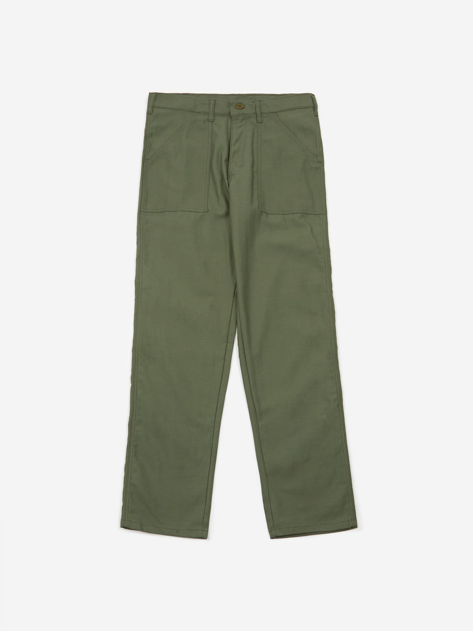 Stan Ray Stan Ray Taper Fit 4 Pocket Fatigue Trousers 8.5oz - Olive - Green