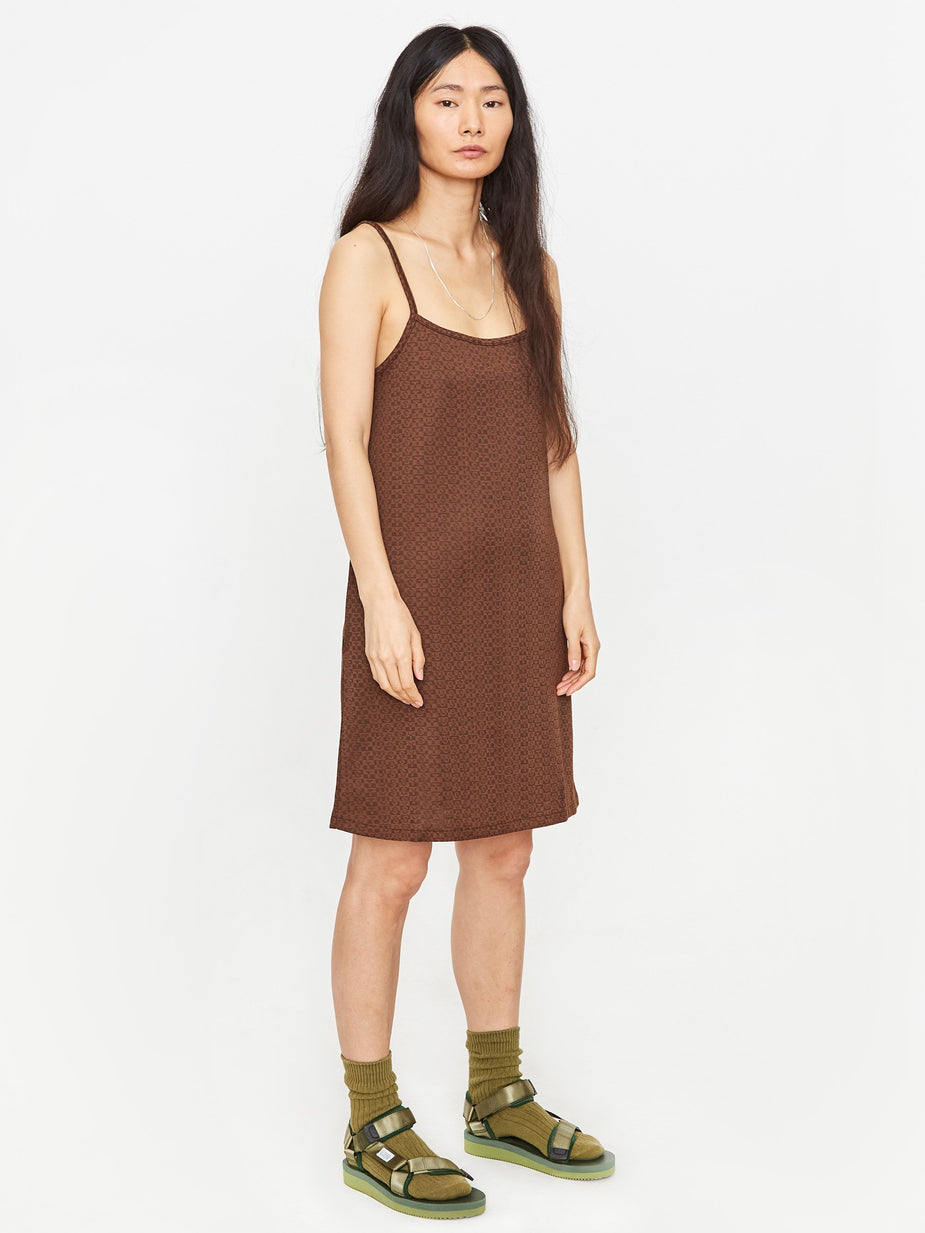 Stussy Stussy Tonal Jacquard Dress - Brown - Brown