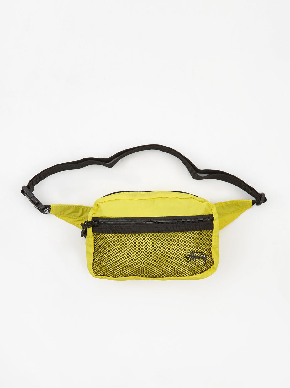 Stussy Stussy Light Weight Waist Bag - Citrus. - Green