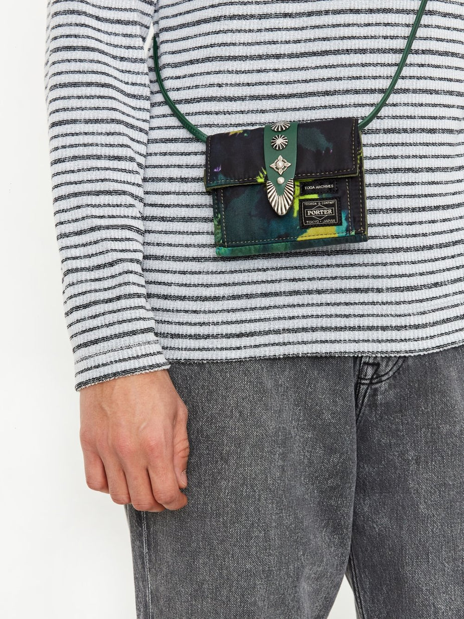 TOGA TOGA x Porter Shoulder Wallet - Green - Green