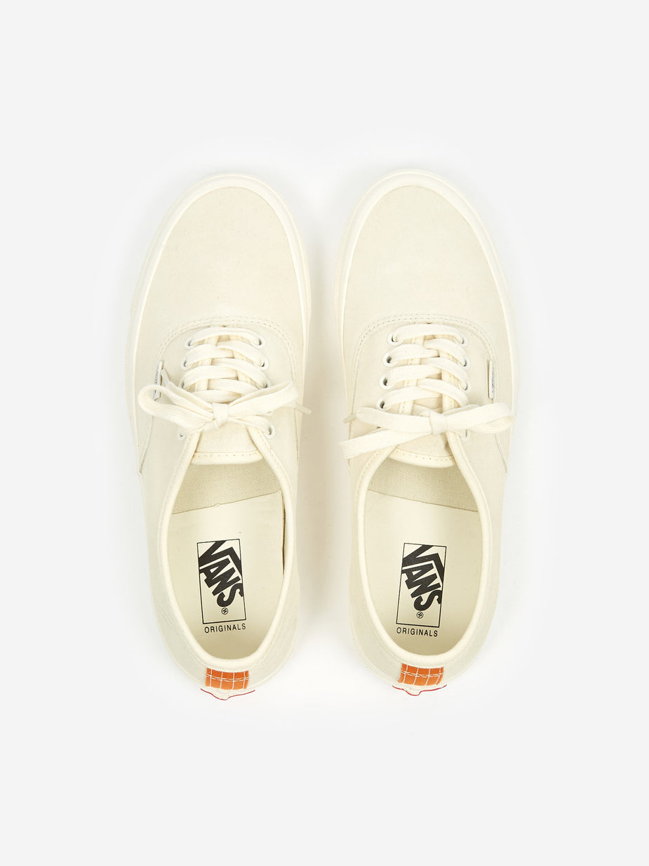 Vans Vans Vault OG Authentic LX - Antique White/Persimmon Orange - White