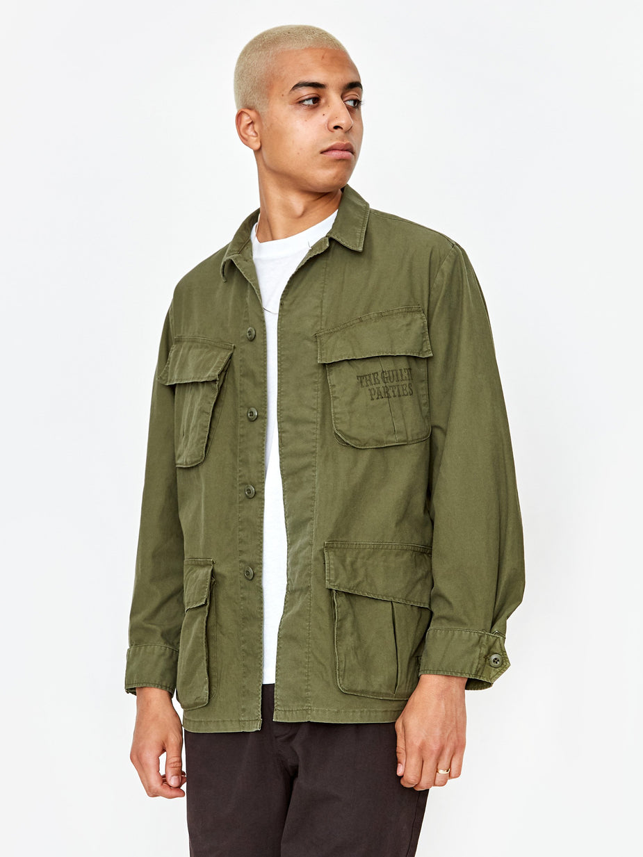 Wacko Maria Wacko Maria Fatigue Jacket Type 8 - Khaki - Neutrals
