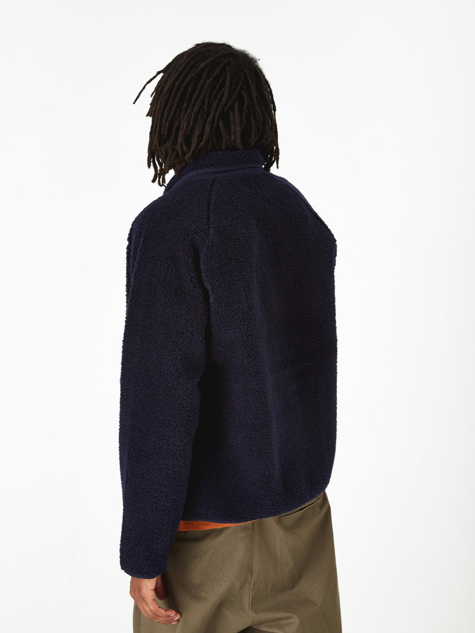 YMC YMC Beach Jacket - Navy - Blue
