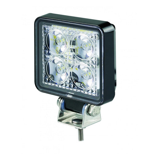 LED ECE R23 Reverse Lamp Approved 7312BM compact square work lamp