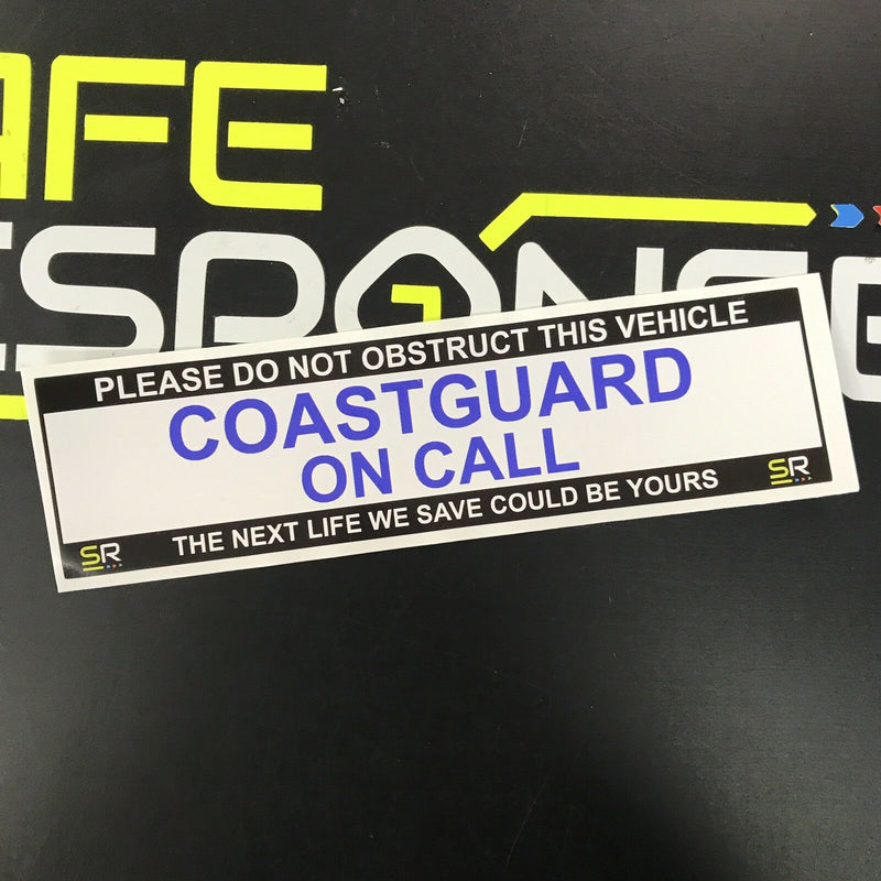245mm Sticker - Coastguard - ST24503