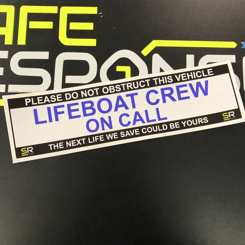 245mm Sticker - Lifeboat Crew - ST24508