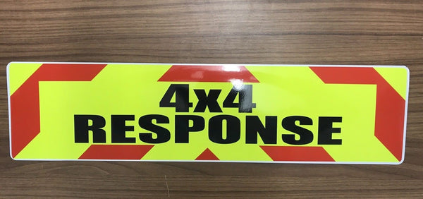 Magnet 4x4 Response Chevron Design 450mm (MG024)