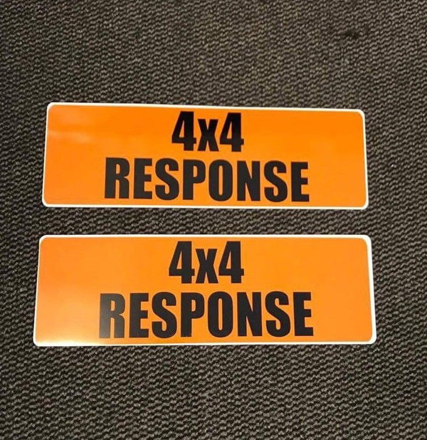 Magnet 4x4 Response 450mm Orange x2 (MG023)
