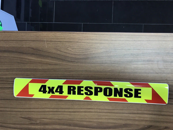 Magnet 4x4 Response Chevron Design (MG026)