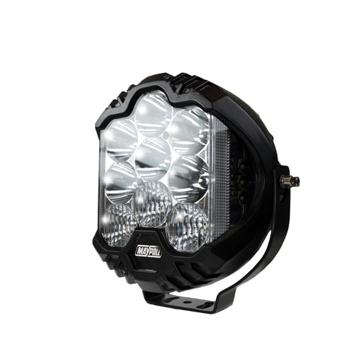"MP5076 7"" Inch Round Full Spot / Driving LED  12/24V"