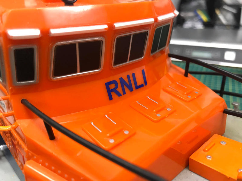Area Identification Number & Name Decal Set for RNLI Severn Class Radio Controlled Model