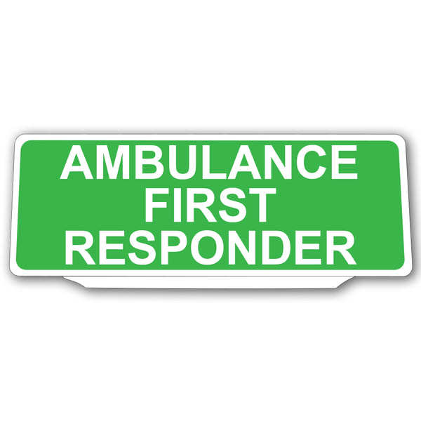 Univisor - Ambulance First Responder - Green - UNV002