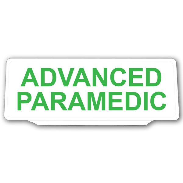 Univisor - Advanced Paramedic - Green Text - UNV026
