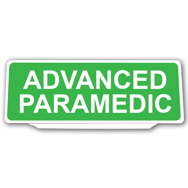 Univisor - Advanced Paramedic - Green with White Text - UNV025