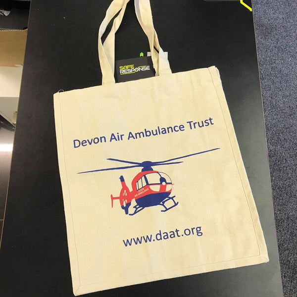 Devon Air Ambulance Canvas Shopping Bag