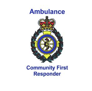 Ambulance Community First Responder Vinyl Window Sticker