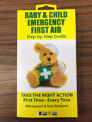 Baby & Child Emergency First Aid Guide / Manual