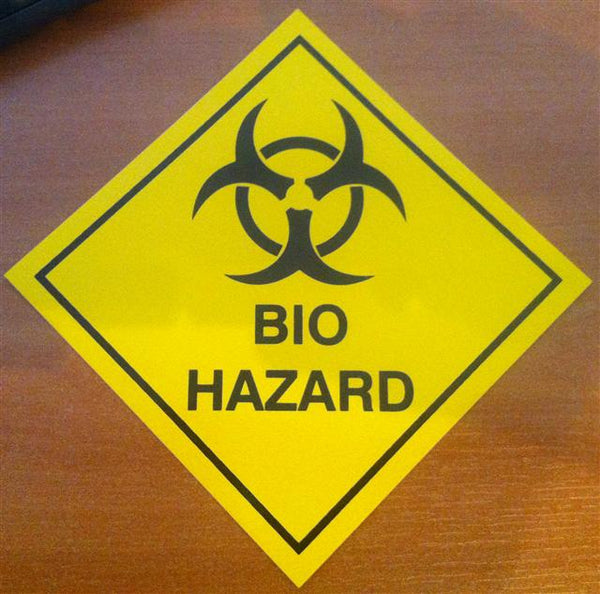 Bio Hazard Vinyl Sticker