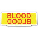 Univisor - BLOOD / BLOOD - Yellow Red Text - UNV194