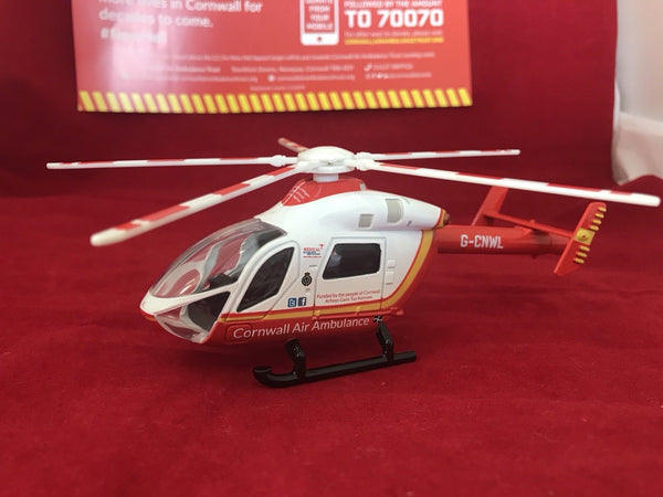 Cornwall Air Ambulance Model Helicopter * Limited Stock *