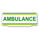 Univisor - AMBULANCE with Chequer Design - UNV311
