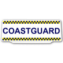 Univisor - COASTGUARD - White Chequered Battenburg Design 1 - UNV152