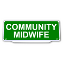Univisor - COMMUNITY MIDWIFE - Green Background White Text - UNV282