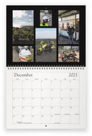 Volunteer Bikers 2021 Wall Calendar