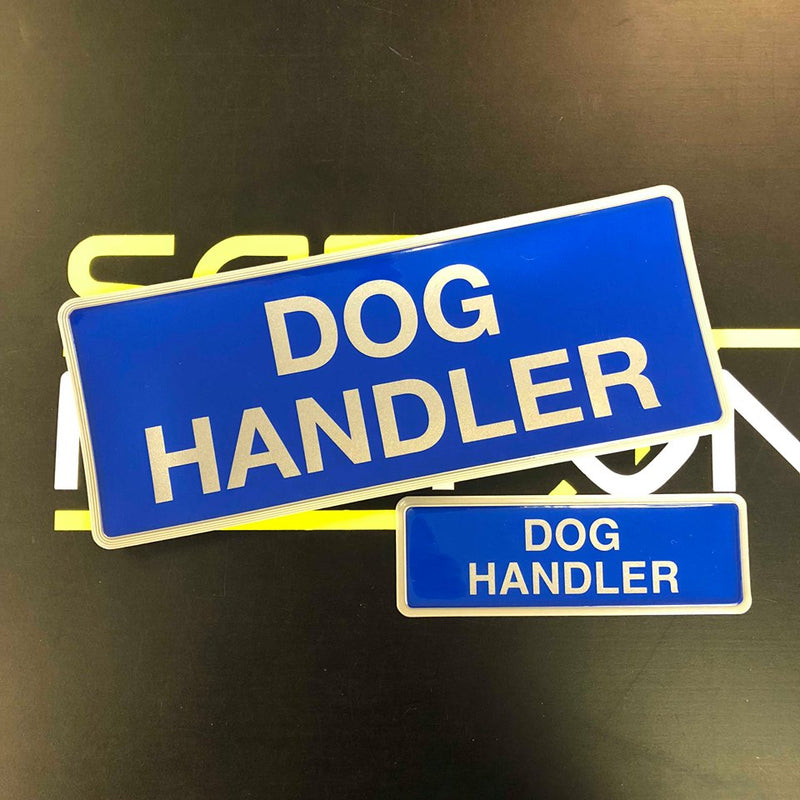 Reflective Badge - Dog Handler 250 Set