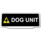 Univisor - Dog Unit with 1 Dog Logo - Black - UNV137