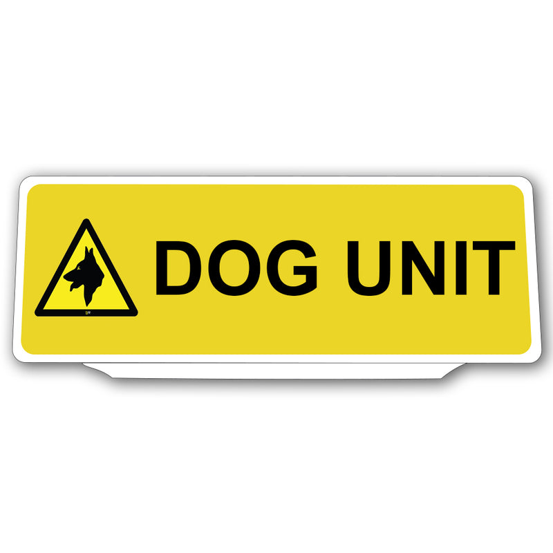 Univisor - Dog Unit with 1 Dog Logo - Yellow - UNV146
