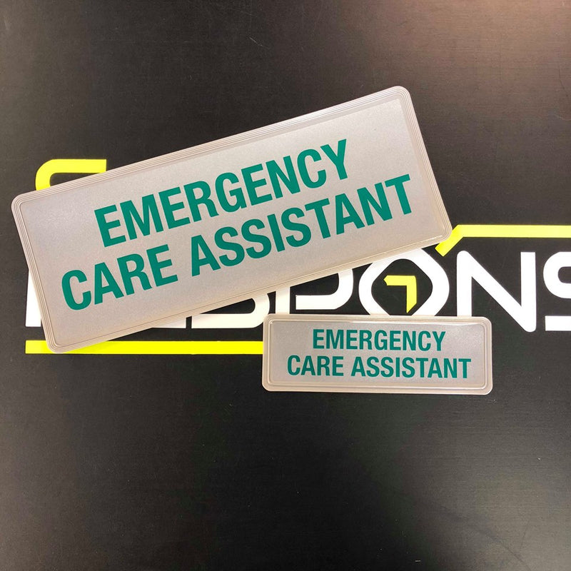 Reflective Badge - Emergency Care Assistant ECA 250 Set