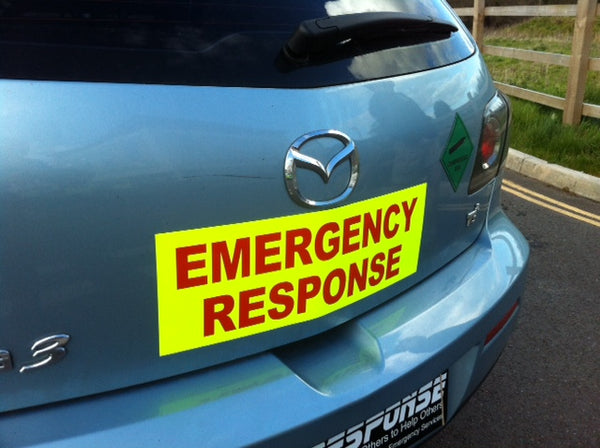 Emergency Response - Magnetic Signage (MG043)