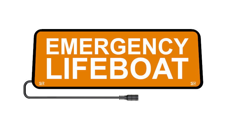 Safe Responder X - Emergency Lifeboat - ORANGE - SRX-031