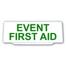 Univisor - EVENT FIRST AID - White with Green Text - UNV199