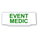 Univisor - EVENT MEDIC - White Background Green Text - UNV225