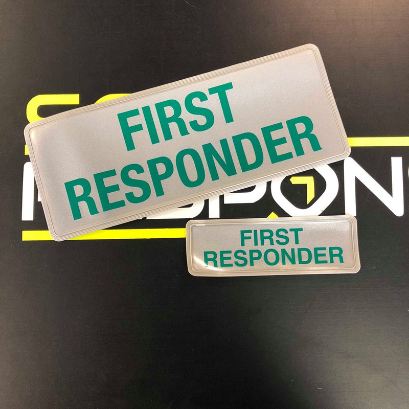 Reflective Badge - First Responder Style2 250 Set