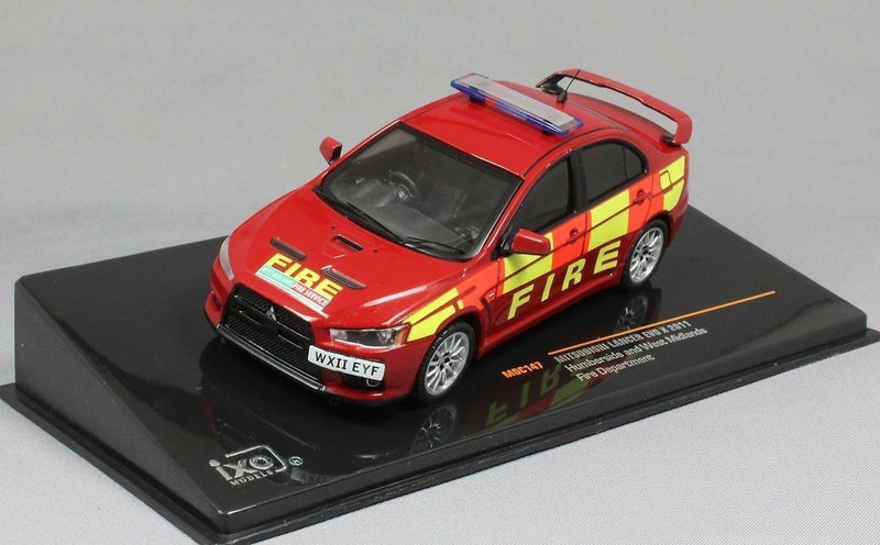 Mitsubishi Lancer Evo X - FIRE - Ixo 1:43 Model