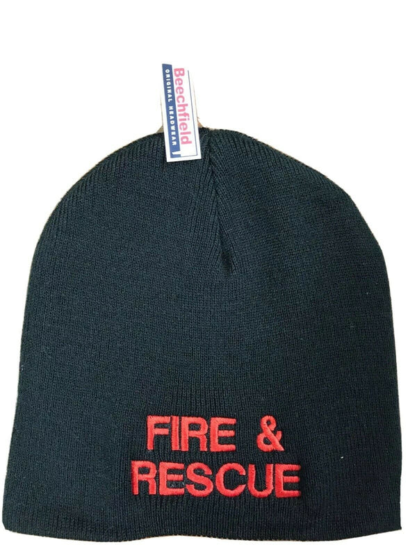Beanie Hat - Fire and Rescue