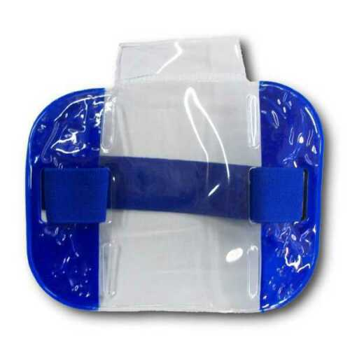 Armband ID Card Holder - Blue