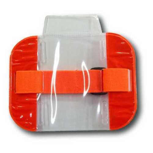 Security ID Arm Band Holder - Red