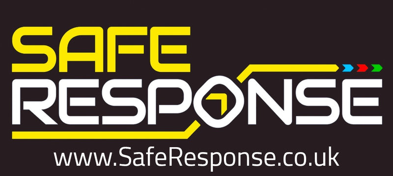 Safe Response Sticker - 100mm*45mm - Exterior