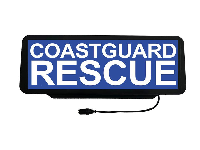LED Univisor - Coastguard Rescue - LEDUNV-014