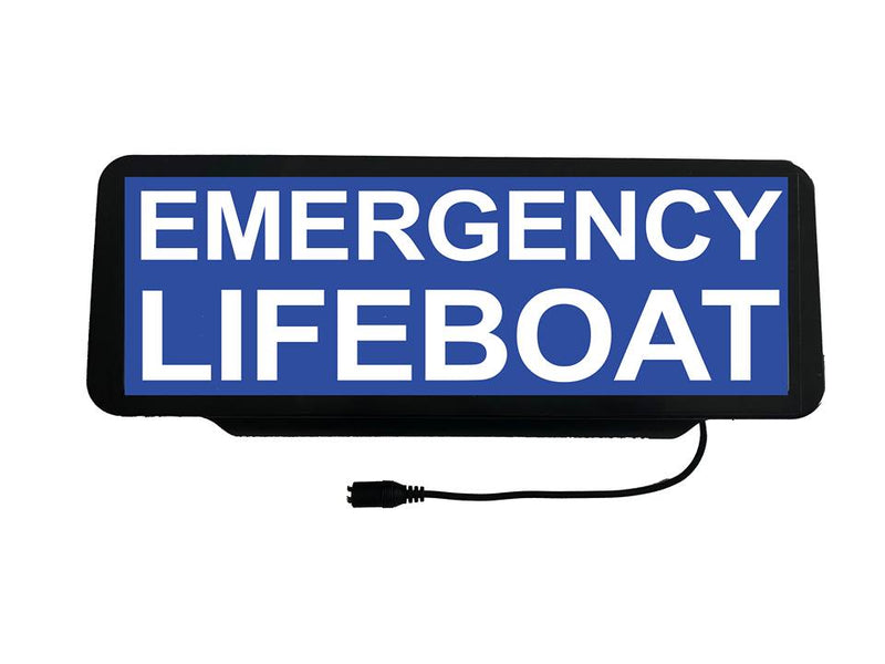 LED Univisor - Emergency Lifeboat - BLUE - LEDUNV-030