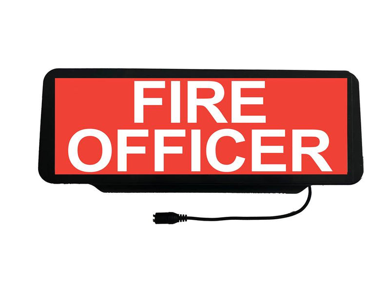 LED Univisor - FIRE OFFICER