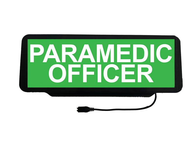LED Univisor - Paramedic Officer