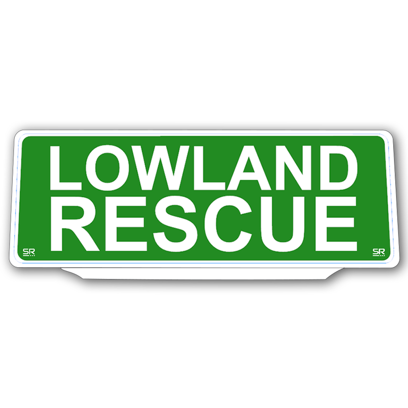 Univisor - Lowland Rescue - Green Background - UNV-LR001