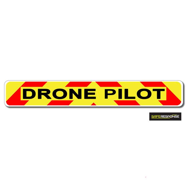 Magnet DRONE PILOT Chevron Design Text (MG144)