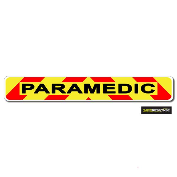 Magnet PARAMEDIC Chevron Design Text (MG146)
